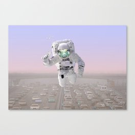 ASTRO FISH Canvas Print