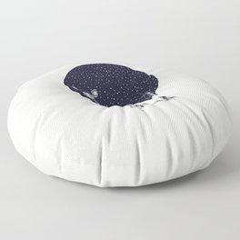 Snow Flake Floor Pillow