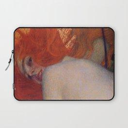 Gustav Klimt, Goldfish, (detail) 1901-1902 Laptop Sleeve