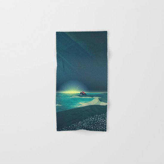 House by the Sea Hand & Bath Towel
