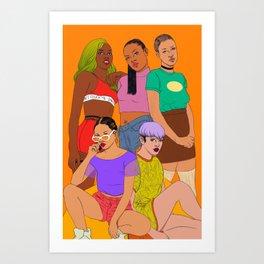 *~GANGANGANGANG*~ Art Print