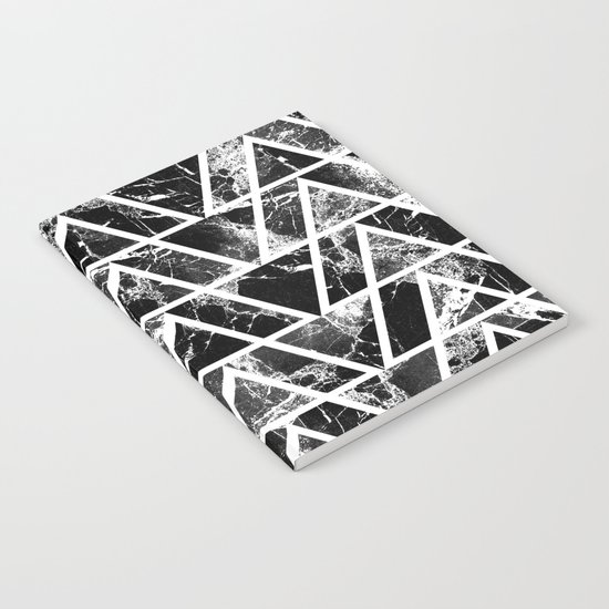 Marble triangles Notebook