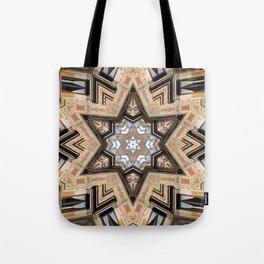 Architectural Star of David Tote Bag
