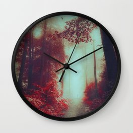 Lost here Wall Clock