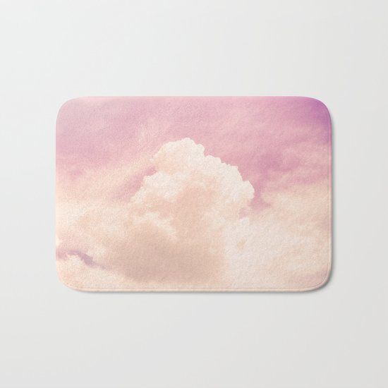 Freedom and Dreams, Pink Sky and Clouds, Heaven Bath Mat