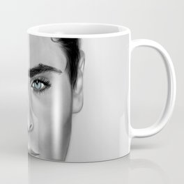 Zac Efron with Blue eyes Coffee Mug