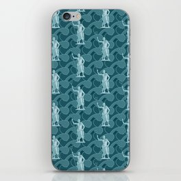 Poseidon OCEAN BREEZE / All hail the god of the sea iPhone Skin