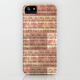 Beautiful Vintage Pattern Design  iPhone Case
