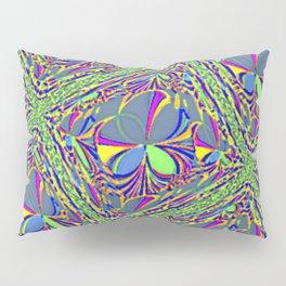 Green Lattice Pillow Sham