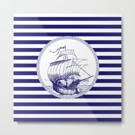 Marine - ship Metal Print