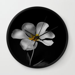 Moon Tulip Wall Clock