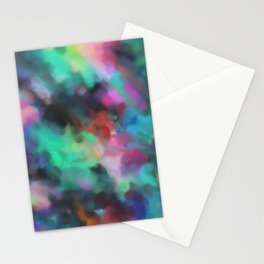 Love of Life Abstract Art Stationery Cards