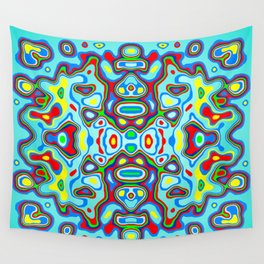 Symmetric composition 3 Wall Tapestry