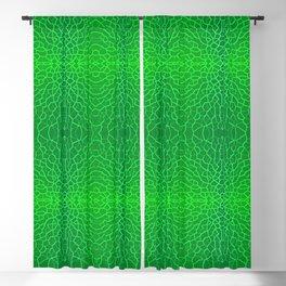 Verdant Facets Blackout Curtain