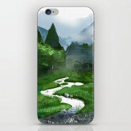 Forest River Illustration  iPhone Skin
