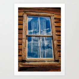Bodie Ghostly Window Art Print