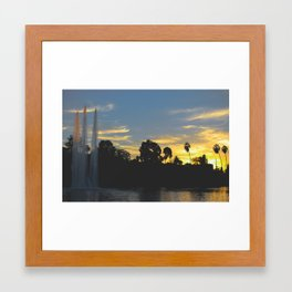 Greetings From Echo Park, Los Angeles IV Framed Art Print