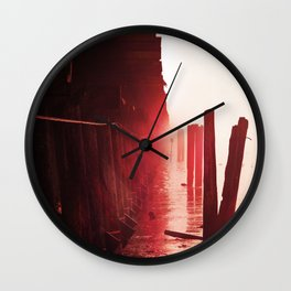 Caffeine Mornings Wall Clock