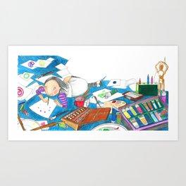 Believe in yourself - Art Explosion Art Print