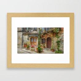 Veranda Framed Art Print