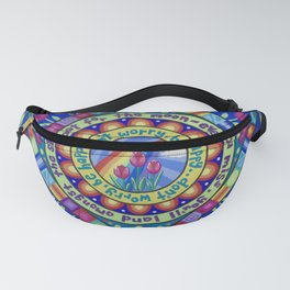 Don't Worry, Be Happy Fanny Pack