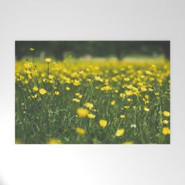 Build Me Up Buttercup Welcome Mat