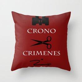 Time Crimes Throw Pillow