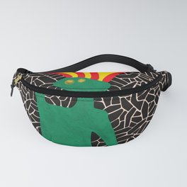 Jumping pony in fire Fanny Pack