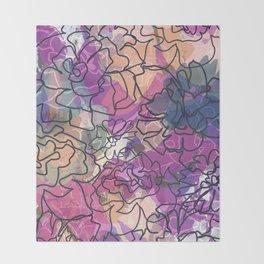Tapestry Batik Throw Blanket