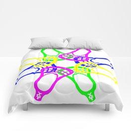Lacrosse Neon Heads Comforters
