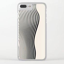 Abstract 18 Clear iPhone Case