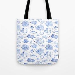 Fish Kiss Tote Bag