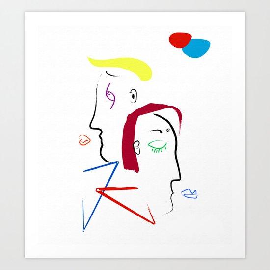 Jano Art Print