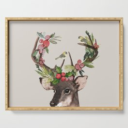 Christmas Deer Serving Tray