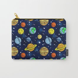 Space and Planets Carry-All Pouch