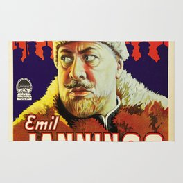 Vintage poster - The Last Command Rug