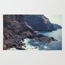 Wild Coast - La Palma - Canary Islands Rug