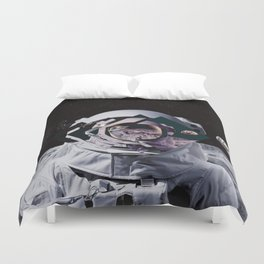 Spaceman oh spaceman Duvet Cover