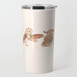 Doctor Hoo Travel Mug