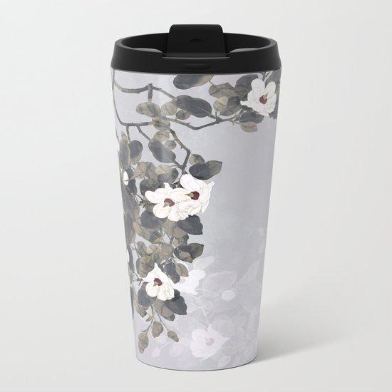Magnolia Metal Travel Mug