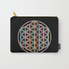 Flower of Life Colored | Kids Room | Delight Carry-All Pouch