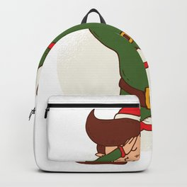 Elf Dabbing Backpack