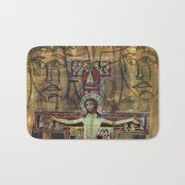Crucifixion Bath Mat