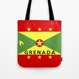 flag of Grenada Tote Bag