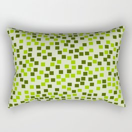 Abstract colorful mosaic pattern IV Rectangular Pillow