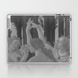 Black White Primavera Laptop & iPad Skin