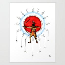 Dream Hunter Art Print