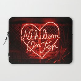 Nihilism On Top Laptop Sleeve