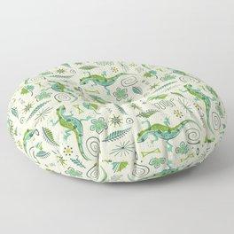 Retro Reptiles Floor Pillow