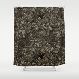 Fit In (autumn night colors) Shower Curtain